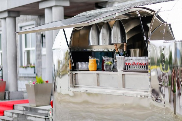 Airstream Style Catering Trailer