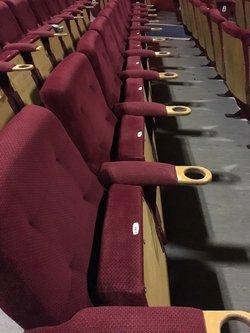 Red Velour Cinema Seats