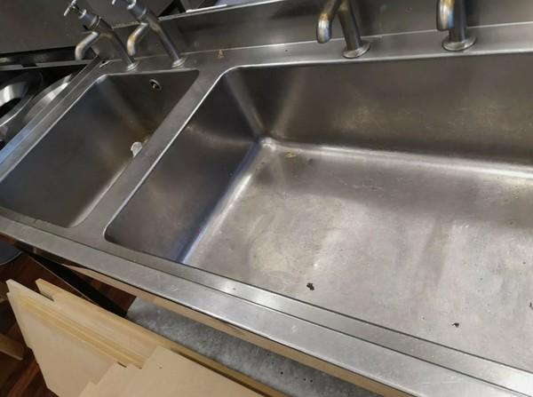 Stainless Steel Triple Bowl Sink