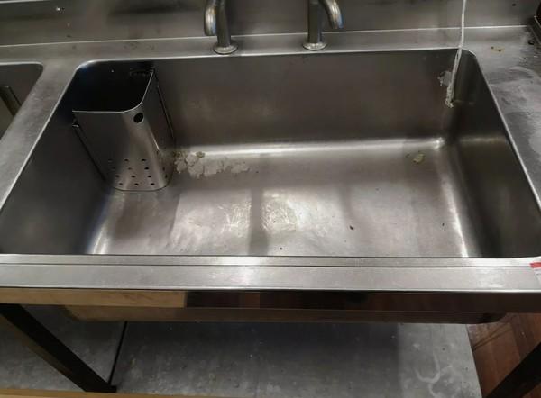Used Triple Bowl Sink