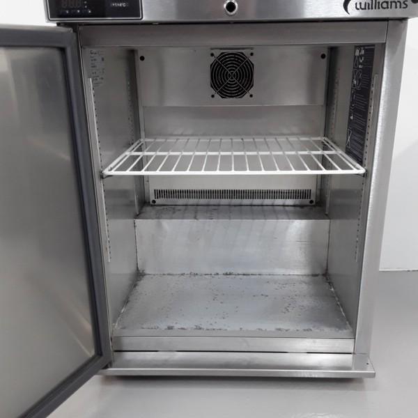 Stainless steel under counter fridge