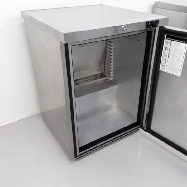 Stainless steel under counter fridge for sale