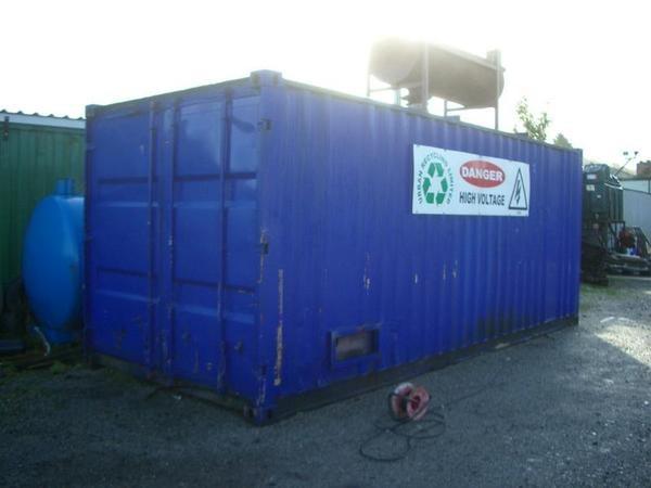 Blue container generator