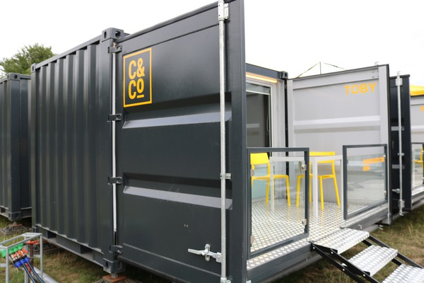 20ft Container Pod with deck