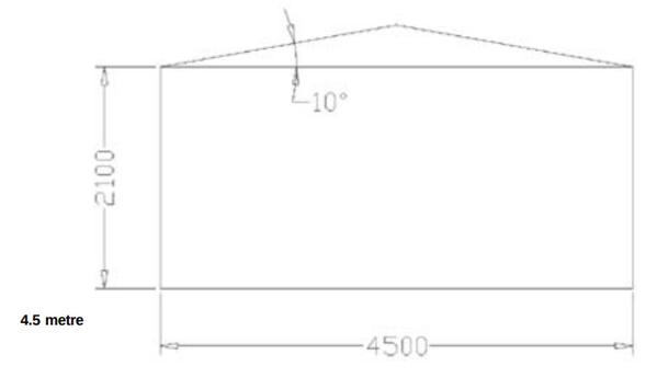 Tectonics modular 4.5m marquee