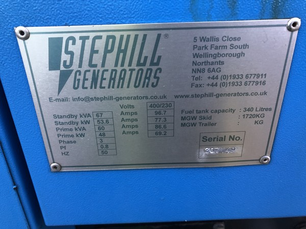48kw generator for sale