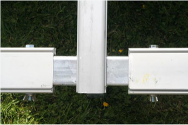 Barkers marquee aluminium framework