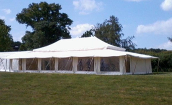 Indian Mughal style marquee