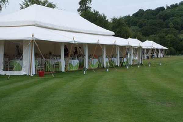 Mughal pavilion marquee