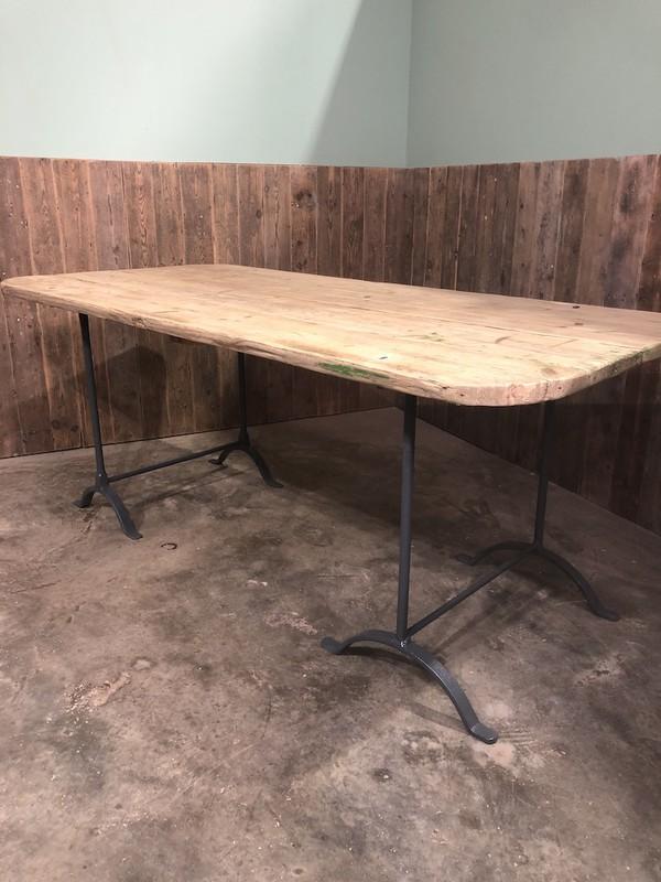Handmade Vintage Trestle Table