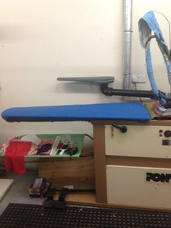 Pony ironing table.