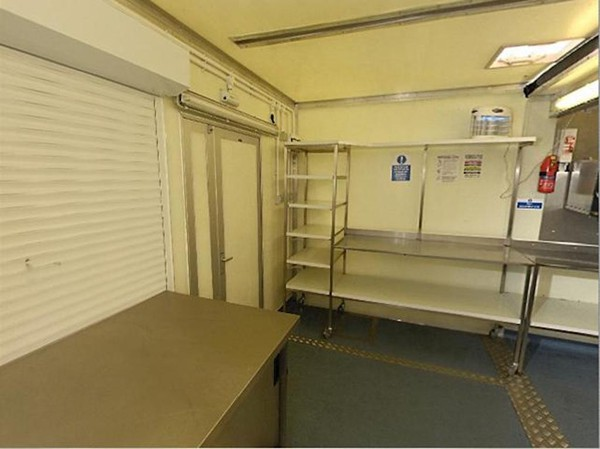 6m x 4.2 m Temporary Kitchen for sale