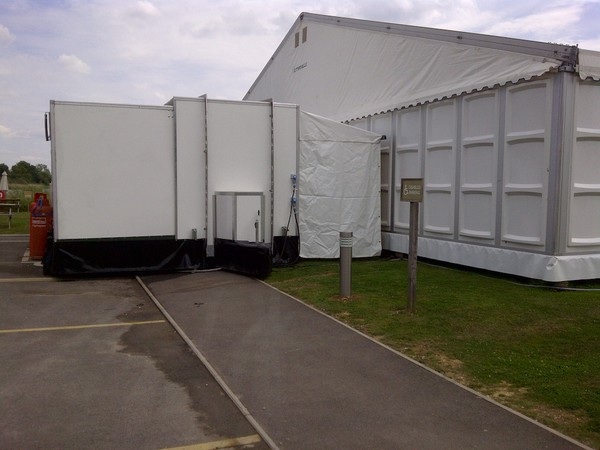 Used Temporary Kitchen