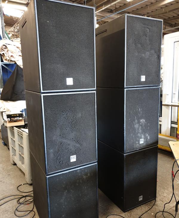 HK Audio Speaker stack for sale