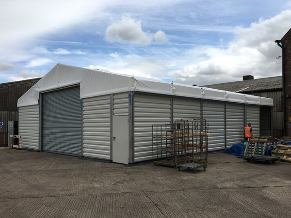 Industrial storage marquee for sale