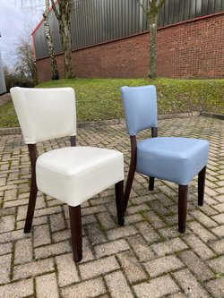 Brand New Faux Leather Restaurant Chairs Seconds