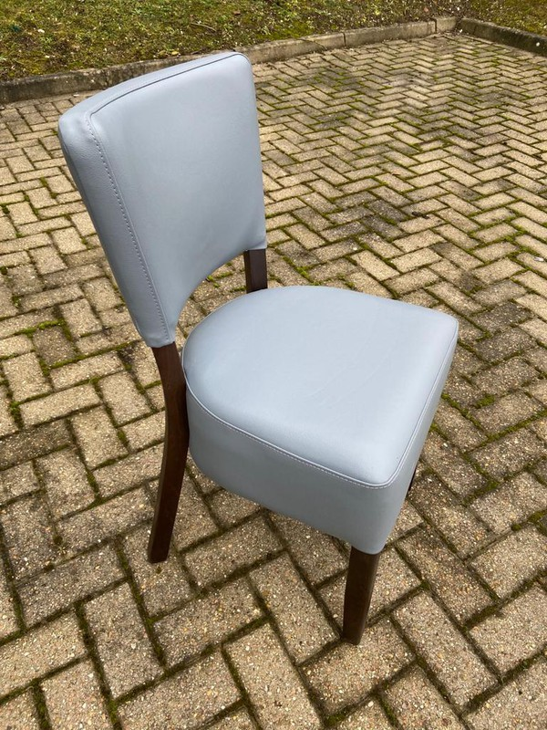Faux Leather Dining Chairs Seconds