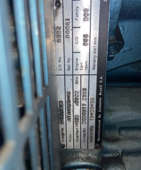 NTA 855 G2 generator for sale
