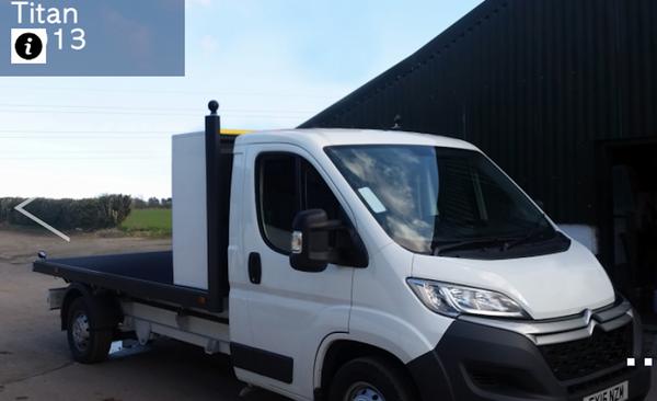 Citroen Display Flat Bed Van