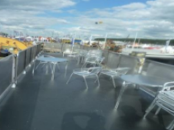 marketing unit roof terrace