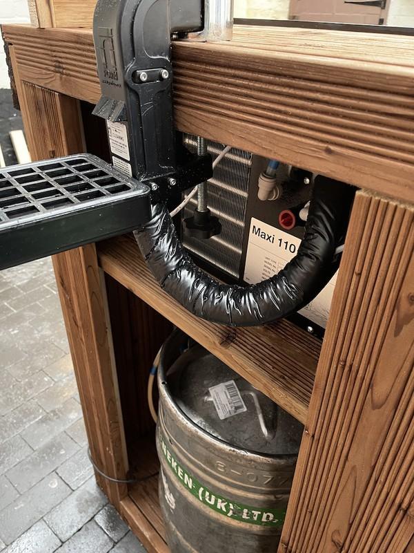 Complete  Bar Setup With Bar