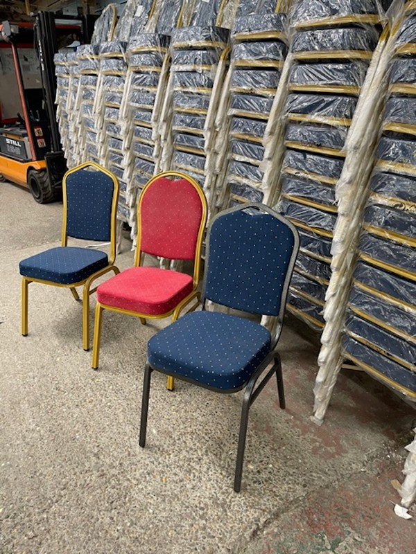 Steel Framed Banquet Chairs