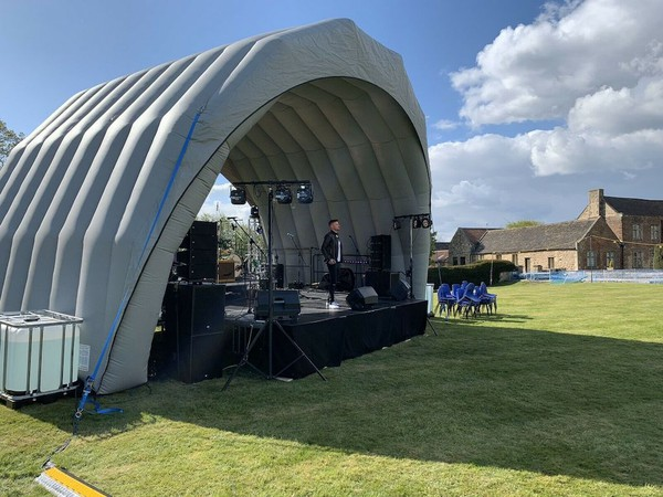 Airquee 9M x 6.5M Stage Cover