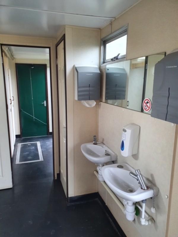Toilet Trailer Interior