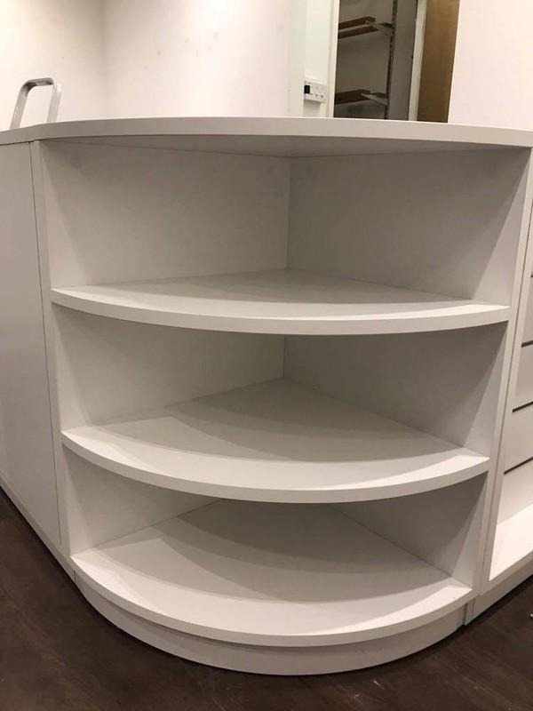 counter shelves