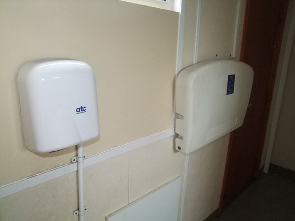 Inside Toilet Block