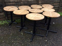 9x Outdoor Tables (CODE OF 294)
