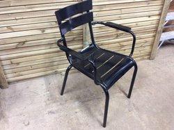 12x Metal Outdoor Chairs (CODE OF 298)