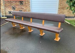 2.5m Refectory Bench for sale