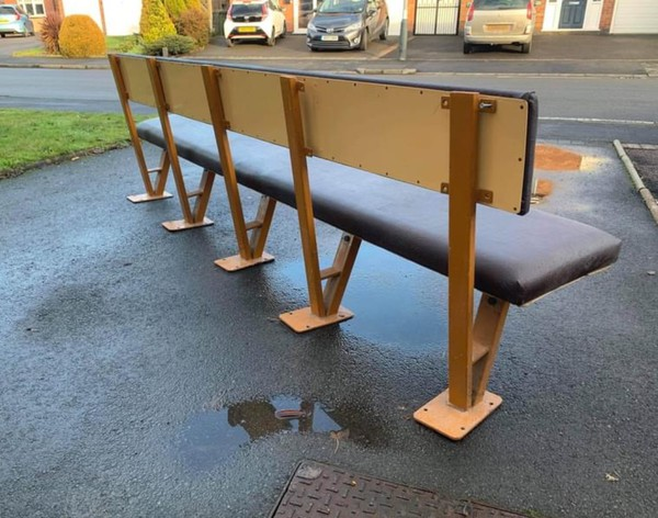 Long fixed bench for sale