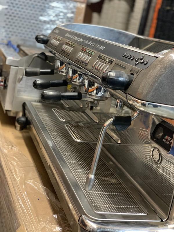 3 Group La Cimbali espresso machine