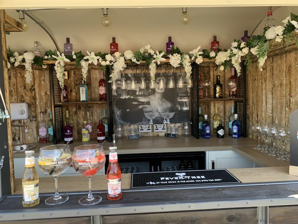 Horse box Gin Bar business