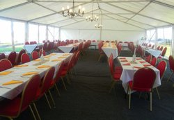 9m x 15m framed marquee for sale