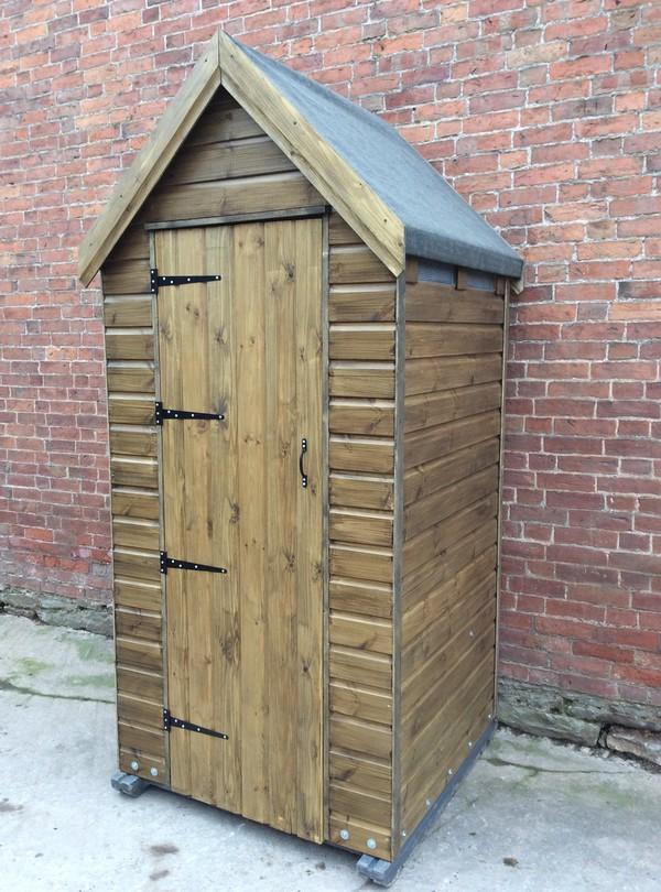 Potting Shed single toilet unit