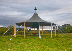 Round Fire Pit Marquee for sale