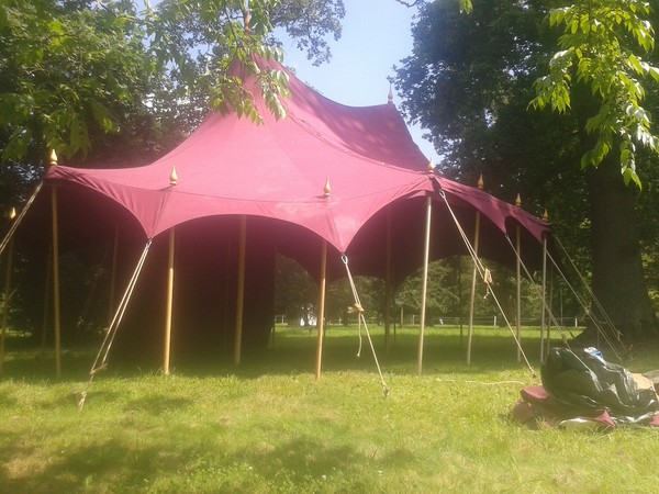 Maroon Communal Area Marquee