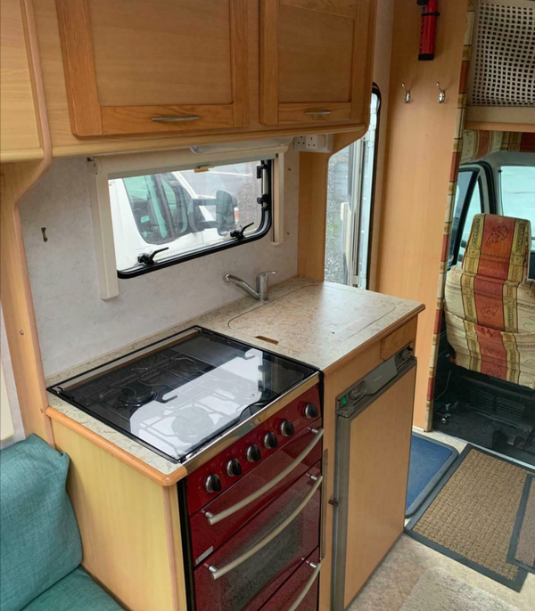 Used Peugeot motorhome for sale