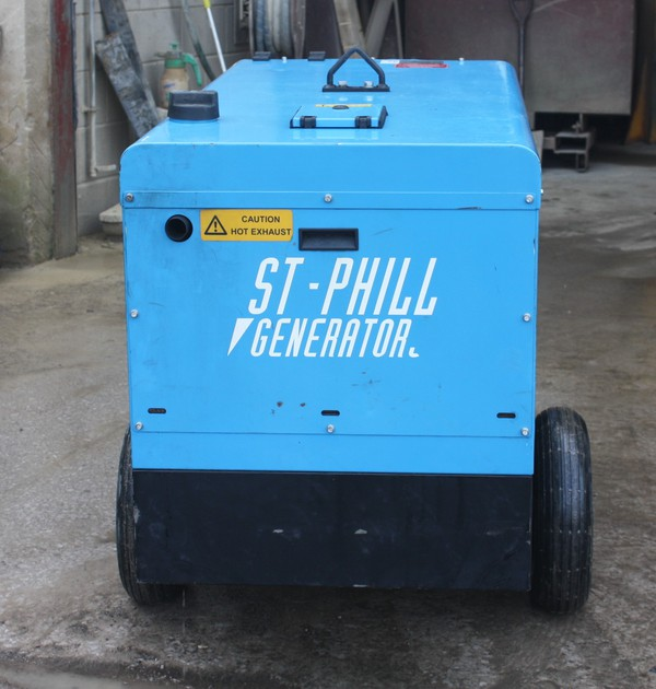 Generator 10Kva on wheels
