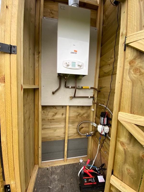 Glamping Boiler Facilities