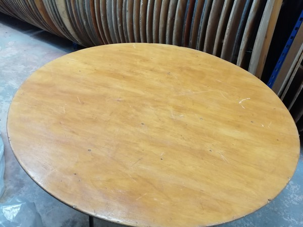 5Ft 6 Inches  Round Table for sale