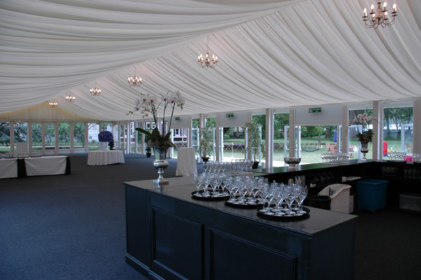 marquee roof linings