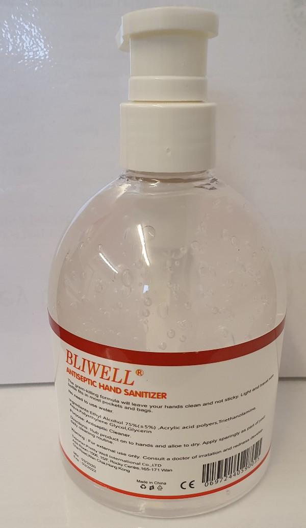 Antiseptic Hand Sanitizer 500ml