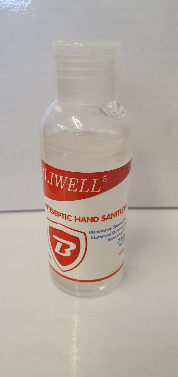 100ml Flip top hand sanitizer for your trucks or vans