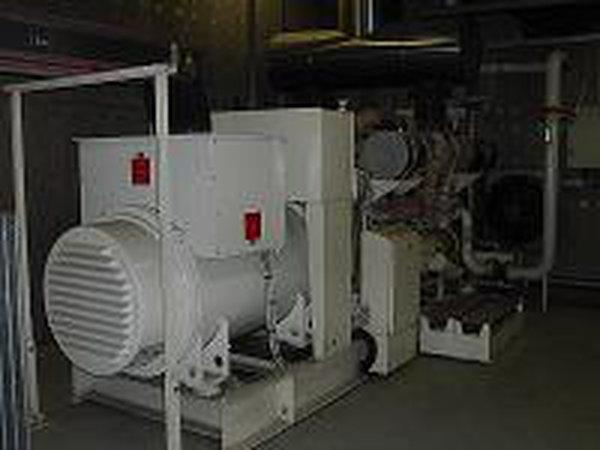 1700 KVA Detroit Generator