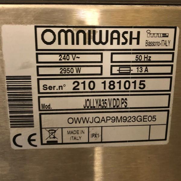 Omniwash Jolly Glasswasher