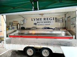 Butchers trailer for sale